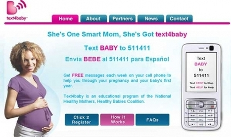 Text4Baby expands on SMS success with app, numbers show public health impact | Digitized Health | Scoop.it