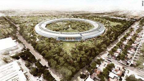 Apple's new 'spaceship' campus: What will the neighbors say? - CNN.com   Breakthrough leadership   Scoop.it
