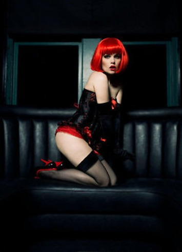 Your Red Wig Matches Your Panties | Lingerie Love | Scoop.it