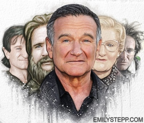 10 Fantastic Artists Pay Tribute to Robin Williams | Life @ Work | Scoop.it