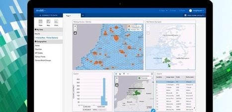 Esri to offer interactive data analysis within ArcGIS -- GCN | Geospatial Pro - GIS | Scoop.it