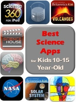 Best Educational Apps for Kids – Upper Elementary and Middle School Science Apps | Ed Tech | Scoop.it