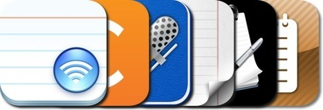 iPad Note Taking: iPad/iPhone Apps AppGuide   Mobile Learning in PK-16 & Beyond...   Scoop.it