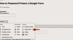 How to Password Protect a Google Form -- a Quick-Start Visual for Download | Open Source Resources for Education | Scoop.it
