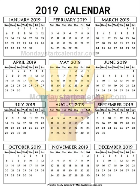 2019 calendar sri lanka pdf editable 2019 yearly template