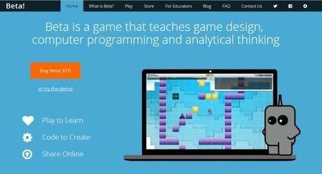 Beta the Game, plataforma de aprendizaje de programación de juegos   Edu-Recursos 2.0   Scoop.it