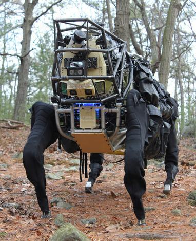 LS3 AlphaDog Robot Begins Outdoor Assessment (Video) - IEEE Spectrum | Robotics Frontiers | Scoop.it