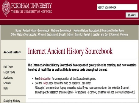 10 Great Search Engines for History Teachers ~ Educational Technology and Mobile Learning | EDUCATION | Scoop.it