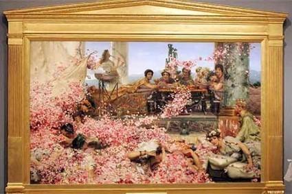 Alma Tadema y la literatura   Reinventar la Antigüedad   Safo, la décima Musa.   Scoop.it