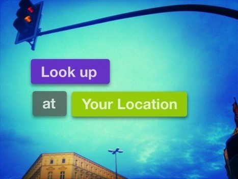 Weekly Mission #4: Look Up! | Appertunity's fun & creative iphone news | Scoop.it