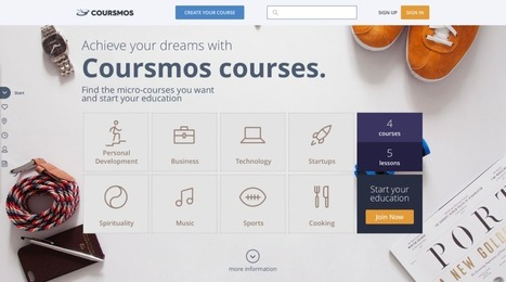 Coursmos Gets $600K To Push Its Mobile-Friendly Micro-Courses AtCorporates | Marketing Done Right | Scoop.it
