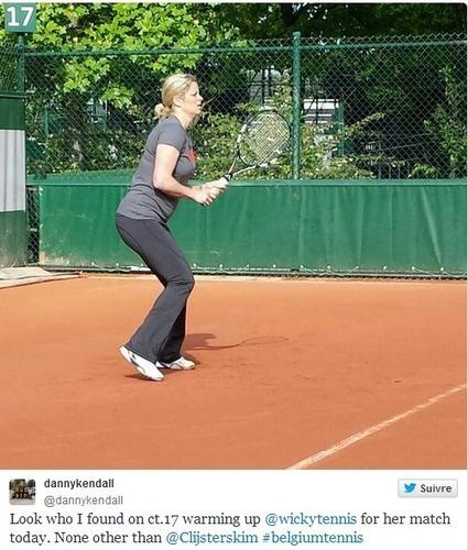 Clijsters en visite à Roland | Tennis , actualites et buzz avec fasto-sport.com | Scoop.it