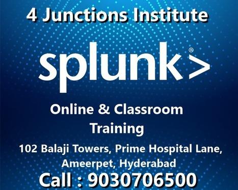 Splunk Training in Hyderabad Ameerpet, Splunk O