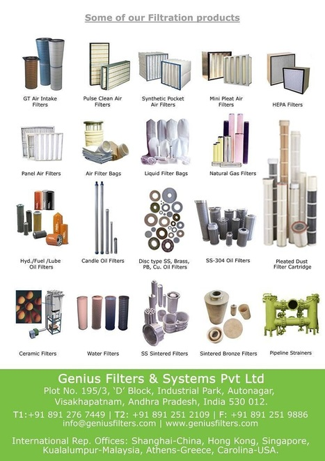 Filters for wide applications in various industries.   Aviation News Feed   Scoop.it