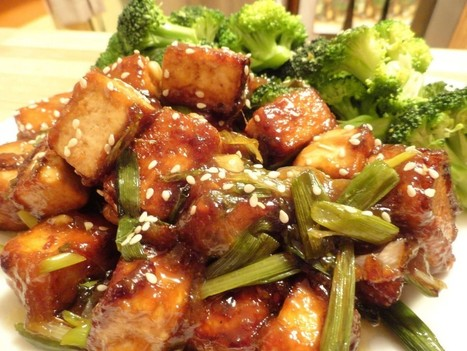 Vegan General Tso's Tofu [GF]   Yzenith's Recipes   Scoop.it