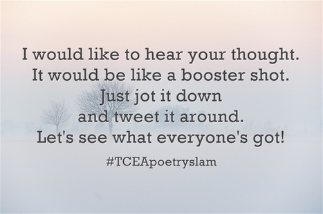 Three Tools for Your Poetry Slam via TCEA | AdLit | Scoop.it