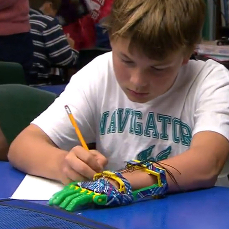 This awesome dad 3-D printed a prosthetic hand for his son   science, technology, south africa, rhodes university, grahamstown, rhodes university journalism, gadgets, environment,   Scoop.it