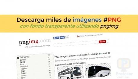 Descarga miles de imágenes #PNG con fondo transparente utilizando #pngimg | Profesoronline | Scoop.it