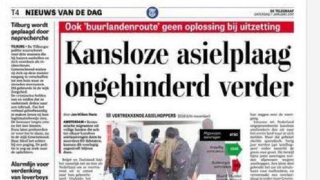 Onrust op Telegraaf-redactie om term 'kansloze asielplaag' | Mediawijsheid in het VO | Scoop.it