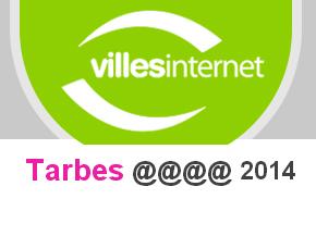 Tarbes labellisée 4@ Tarbes Actualités | Vallée d'Aure - Pyrénées | Scoop.it
