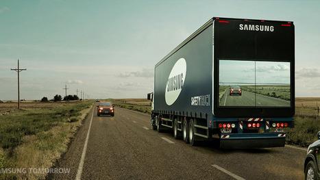 Schermi Lcd sui camion per vedere meglio la strada davanti | Social TV addicted | Scoop.it