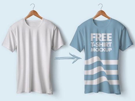 e9b570256f 52+ Free T-Shirt Mockup PSD Templates – Free Download