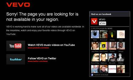 Accéder à Facebook, Vevo, YouTube, Gmail et Twitter de n'importe où | Quand la communication passe au web | Scoop.it