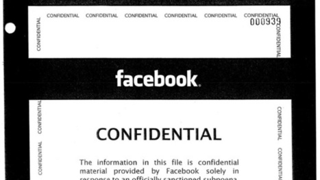 What Facebook Sends the Cops When Your Account Is Subpoenaed | Mind changing pictures | Scoop.it