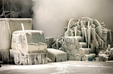 Chicago's Freezing Fire | Merveilles - Marvels | Scoop.it