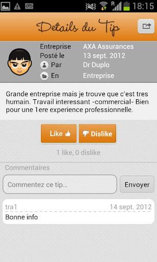 Positips - Réseau social conçu pour partager des bons plans et des conseils sur votre entreprise   Time to Learn   Scoop.it
