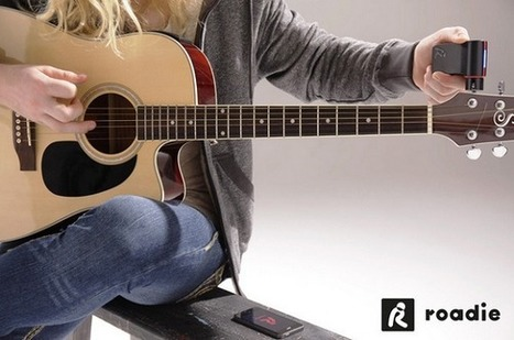 Voici l'accessoire pour smartphone du guitariste 2.0 | Communiquer sur le Web | Scoop.it