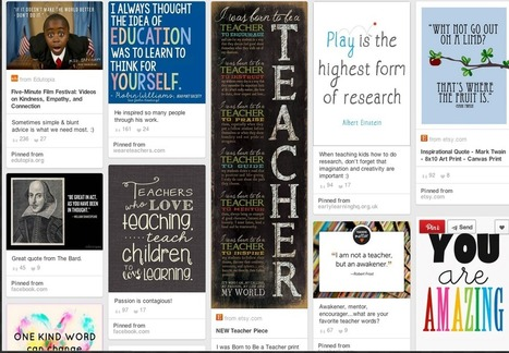 4 Great Resources for Inspirational Teaching Quotes ~ Educational Technology and Mobile Learning | Scriveners' Trappings | Scoop.it
