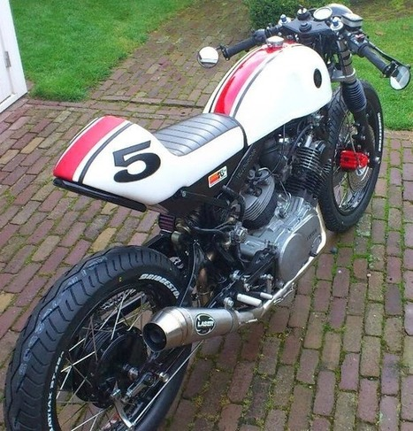 yamaha cafe racer conversion' in cars | motorcycles | gadgets