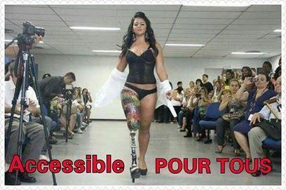 De plus en plus de mannequins #Handi... - Accessible POUR TOUS | Facebook | Infos Mode, Beauté , VIP, ragots, buzz ... | Scoop.it