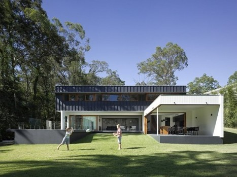 Fig Tree Pocket House 2: a modern family home with an internal bamboo garden | sustainable architecture | Scoop.it
