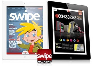 Steel Media launches interactive iOS magazine 'swipe' on App Store - Pocket Gamer.Biz | Magazine Publishing | Scoop.it