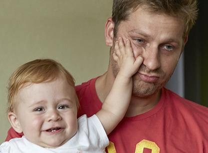 10% des pères dépriment à la naissance de leur bébé | Autour de la puériculture, des parents et leurs bébés | Scoop.it