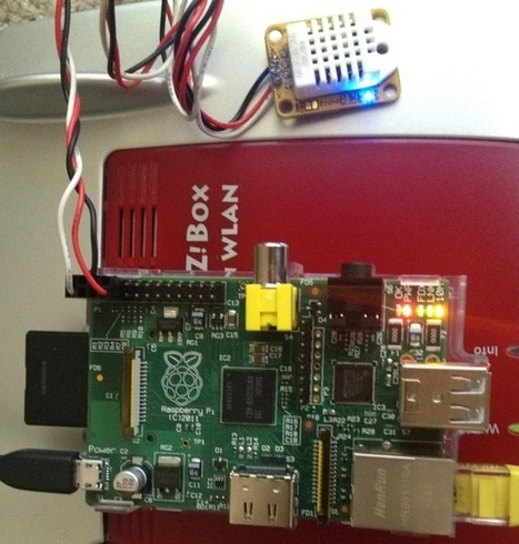 Raspberry Pi Temperature and Humidity Project | inalia | Scoop.it