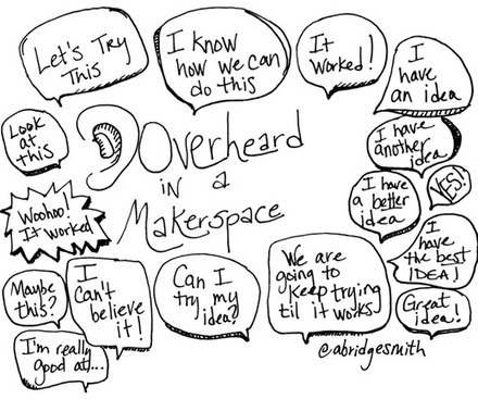 Overheard in a Makerspace - GRANTWOOD AEA DIGITAL LEARNING | iPads, MakerEd and More  in Education | Scoop.it