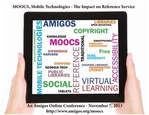 MOOCs, Mobile Technologies - Their Impact on Reference Service | Amigos Library Services | Libraries & Librarians | Scoop.it