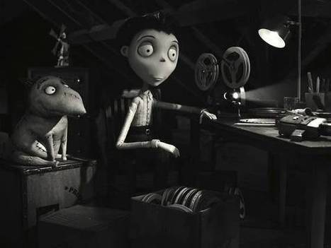 First Images From Frankenweenie Spin-Off Short Captain Sparky Vs. The Flying Saucers   Animation News   Scoop.it