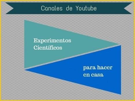 Experimentos científicos caseros para niños. 6 canales en Youtube, en español.- | Recursos Tecnologicos Educativos | Scoop.it