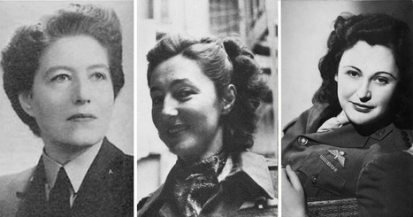Here Are Three Of The Best Spies Operating In Europe During World War Two - And They Are All Women | World at War | Scoop.it