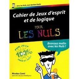 Cahier de Jeux d'esprit et de logique pour les Nuls | Livraison mathématique | Mathoscoopie | Scoop.it
