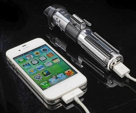 Ricarica il tuo Iphone con la spada laser di Star Wars | ToxNetLab's Blog | Scoop.it