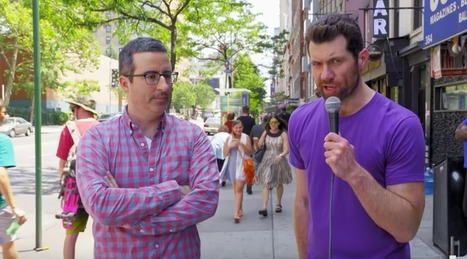 Watch: gay guys totally destroy John Oliver by telling him they don't know who he is | Gay News | Scoop.it