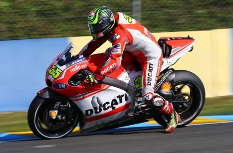 Crutchlow: We don't breathe when we brake | Ductalk Ducati News | Scoop.it