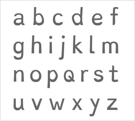 Tipografía adecuada para la dislexia | PTp | Scoop.it