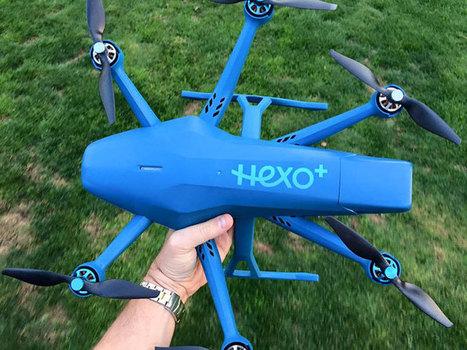 [SUIVI] Hexo+ : un accord stratégique de Squadrone System et de Drone Volt - | Soutenir les start-ups! | Scoop.it