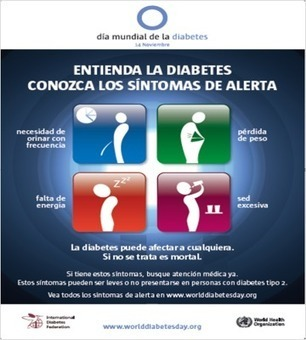 Los 4 síntomas de la Diabetes | Diabetes Hoy | Scoop.it